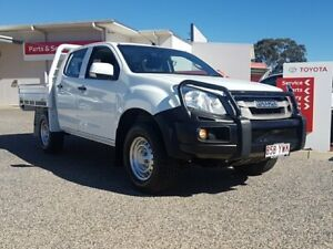 2015 Isuzu D-MAX TF MY15 SX (4x4) White 5 Speed Automatic Crew Cab Chassis Warwick Southern Downs Preview