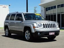 2013 Jeep Patriot MK MY2013 Limited CVT Auto Stick Bright Silver 6 Speed Constant Variable Wagon Garbutt Townsville City Preview