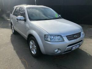 2005 Ford Territory SX Ghia AWD Silver 4 Speed Sports Automatic Wagon Invermay Launceston Area Preview