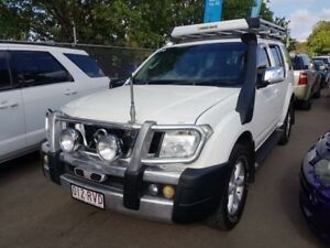 2007 Nissan Pathfinder R51 TI (4x4) White 5 Speed Automatic Wagon Campbelltown Campbelltown Area Preview
