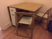 Folding Table and 4 chairs - Very versatile