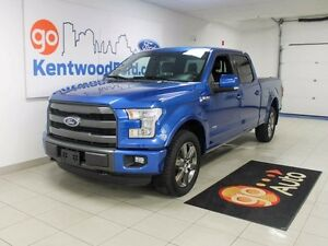 2015 Ford F-150 Lariat Sport! NAV & Leather!