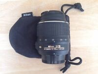 Nikon Af-S Dx Nikkor Camera Lens 18-55Mm F/3.5-5.6G