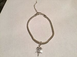 Silver Registered Nurse Bracelet, New Handcrafted by Seller West Island Greater Montréal image 1