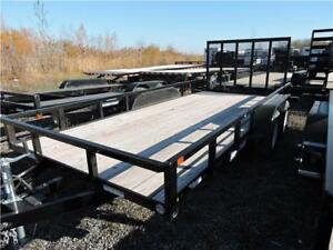 Remorque ST 5X14 Tube Top Trailer