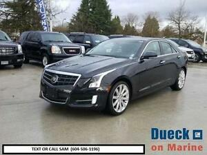 2013 CADILLAC ATS PREMIUM AWD (BLACK ON BLACK)