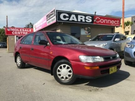 1996 Toyota Corolla AE101R CSi Seca 4 Speed Automatic Liftback Edgeworth Lake Macquarie Area Preview