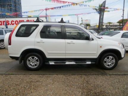 2002 Honda CR-V MY02 (4x4) Sport White 4 Speed Automatic Wagon Southport Gold Coast City Preview