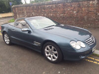 STUNNING 2004 MERCEDES-BENZ SL350 CONVERTIBLE FULL LEATHER DRIVES PERFECT BE QUICK AT THIS PRICE