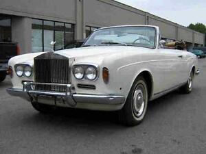 1969 Rolls Royce Corniche Convertible VERY RARE Classic