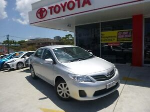 2012 Toyota Corolla ZRE152R MY11 Ascent Silver Pearl 4 Speed Automatic Sedan Allawah Kogarah Area Preview