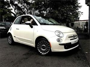 2012 FIAT 500 Lounge Convertible Automatique