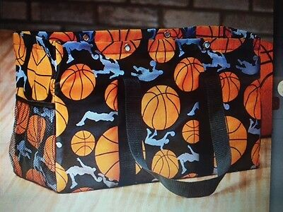 Sport Totes- Baseball, Basketball, Football, or Soccer utility tote bag travel