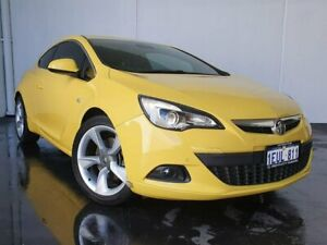 2015 Holden Astra PJ MY15.5 GTC Sport Yellow 6 Speed Automatic Hatchback