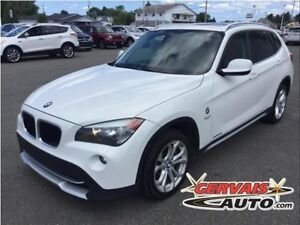 BMW X1 28i Xdrive Cuir Toit Panoramique MAGS AWD 2012