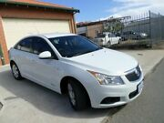 2012 Holden Cruze JH Series II MY12 CD White 6 Speed Sports Automatic Sedan Mount Lawley Stirling Area Preview