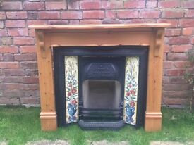 Complete Victorian-style Fireplace for sale.
