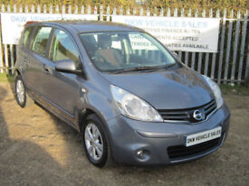 NISSAN NOTE 1.4 ACENTA MPV 2009 (09) 73K FSH 8 X STAMPS / A/C / B/TOOTH / ALLOYS