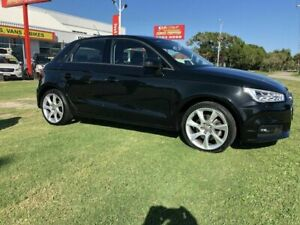 2015 Audi A1 8X MY14 Ambition Sportback S Tronic Black 7 Speed Sports Automatic Dual Clutch Kippa-ring Redcliffe Area Preview