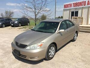 2003 TOYOTA CAMRY LE - 4 CYLINDER - AUTOMATIC - POWER OPTIONS
