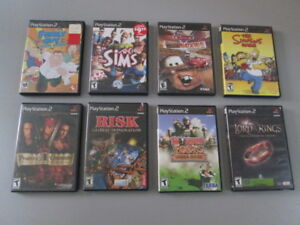 PS2 Playstation 2 Assorted Games