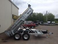 2015 Cam 6'8 x 12' HD Dump Trailers (Painted or Galvanized)