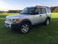 Land Rover Discovery 3 TDV6 S 2005 (05) Manual *New Clutch* 7 Seats Silver MOT'd