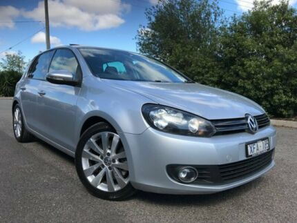 2009 Volkswagen Golf 1K MY10 118 TSI Comfortline Silver 7 Speed Auto Direct Shift Hatchback