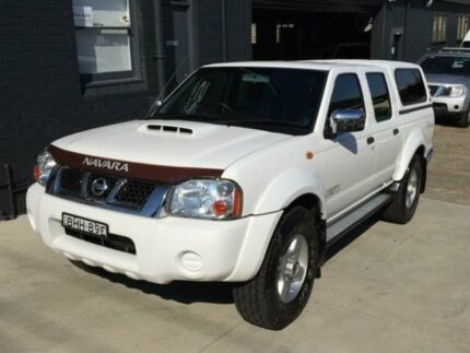 2008 Nissan Navara D22 MY08 ST-R (4x4) White 5 Speed Manual Dual Cab Pick-up Mortdale Hurstville Area Preview