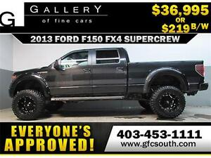 2013 FORD F150 FX4 LIFTED *EVERYONE APPROVED* $0 DOWN $219/BW!