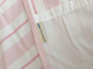 Pottery Barn Kids Striped double width curtains