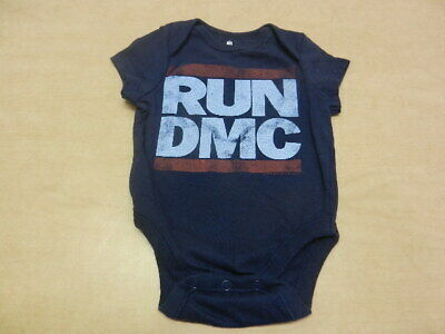 Run DMC Boys One Piece Baby Outfit Size 0/3 Months (Run Dmc Outfit)