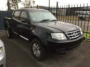 2015 Tata Xenon MY15 (4x2) Black 5 Speed Manual Utility Sandgate Newcastle Area Preview