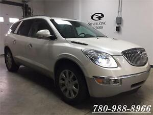 2011 Buick Enclave CXL, Sunroof,Back-up cam,Leather,7pass,AWD