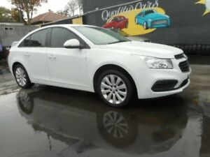 2016 Holden Cruze JH Series II Equipe Sedan 4dr Spts Auto 6sp 1.8i MY16 White Sports Automatic Sedan Croydon Burwood Area Preview