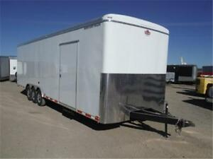 30 ft QUALIFIER ENCLOSED TRAILER - 18,000# GVWR **TAX IN PRICE**