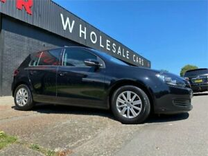 2012 Volkswagen Golf VI MY13 90TSI Trendline Black 6 Speed Manual Hatchback Mayfield West Newcastle Area Preview
