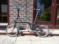 Brompton S6L Folding Bike - excellent condition