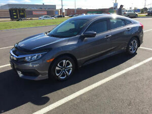 2016 Honda Civic LX Sedan Lease Takeover!