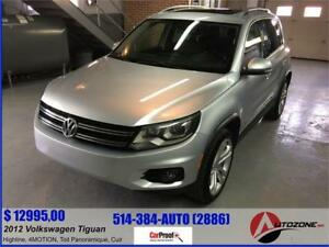 2012 Volkswagen Tiguan Highline/4MOTION/TOIT PANORAMIQUE/CUIR