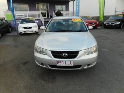 2005 Hyundai Sonata NF Silver 4 Speed Sequential Auto Sedan Greenslopes Brisbane South West Preview