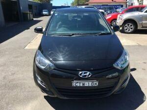 2014 Hyundai i20 PB Active Black Manual