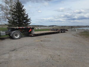 1995 Aspen Tri axle lowbed with removable neck