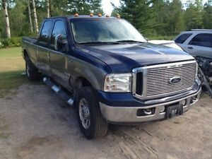 Parting out 2006 F350 superduty 6.0l DEISEL 4x4