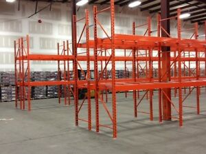 Used & New Warehouse Pallet Racking