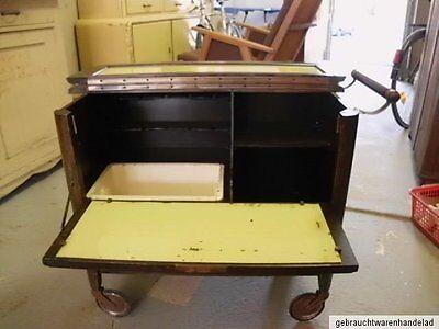 alter antiker barwagen bar bauhaus minibar servierwagen teewagen jugendstil chic