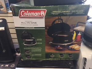 Coleman All-In-One Stove, Stock Pot & Cooker.