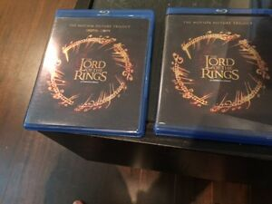 Lord of the rings trilogie blu ray