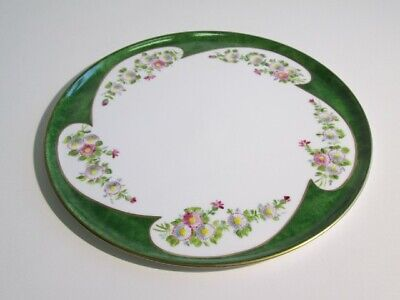 Limoges France Dish Tray Centerpieces Porcelain Painted Blossom & Gold