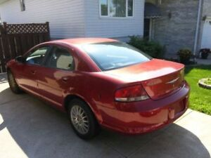 2006 Chrysler Sebring -- Tow away